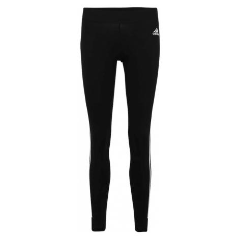 ADIDAS PERFORMANCE Spodnie sportowe 'MH 3S' czarny / biały
