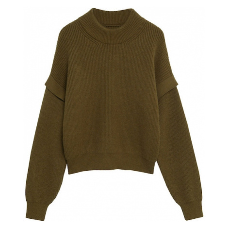 MANGO Sweter oliwkowy