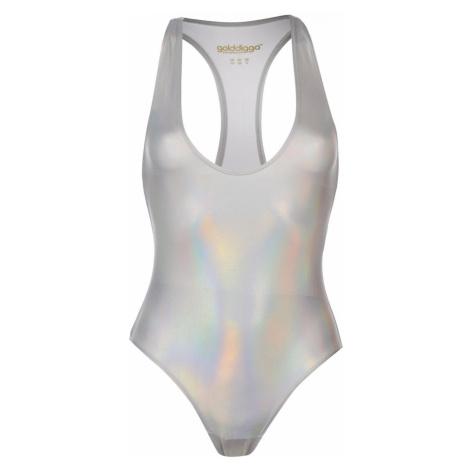 Golddigga Shimmer Swimsuit Ladies