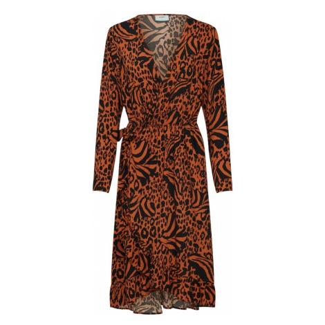 Moves Sukienka 'Nessa' homarowy / czarny