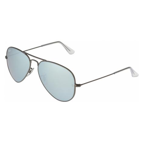 Ray-Ban Okulary przeciwsłoneczne 'Aviator' srebrny