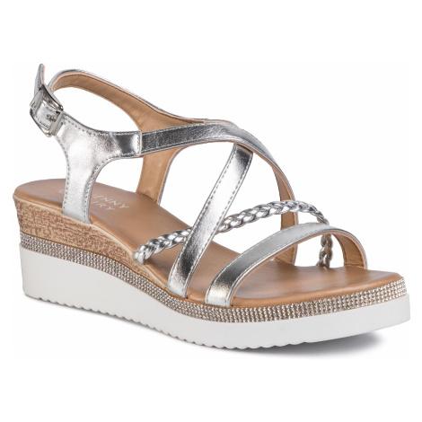 Sandały JENNY FAIRY - WS2189-02 Silver