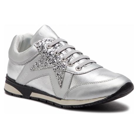 Sneakersy GUESS - Litzy FJ5LIT ELE12 SILVER
