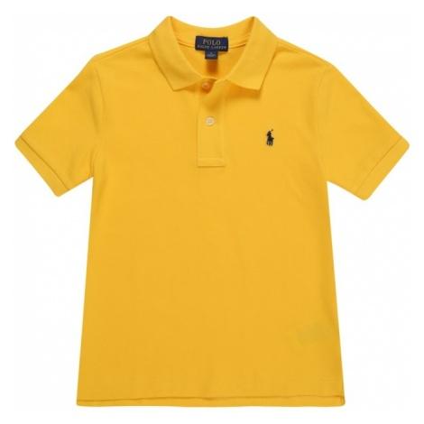 POLO RALPH LAUREN Koszulka 'BASIC MESH' żółty