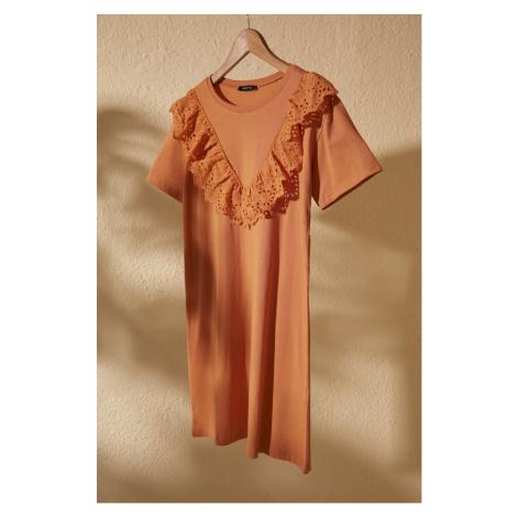 Women's dress Trendyol Lace detailed