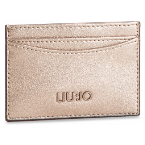 Etui na karty kredytowe LIU JO - Credit Card Case A19164 E0040 Gold 00529