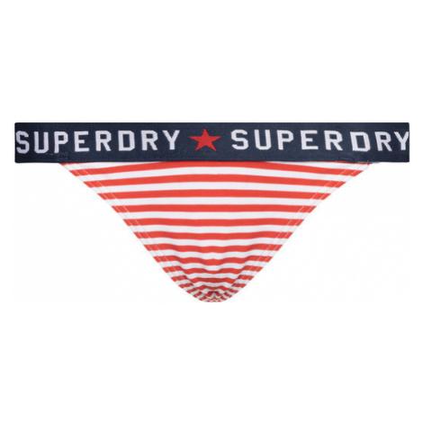 Superdry Dół od bikini American Spirt W3000012A Kolorowy
