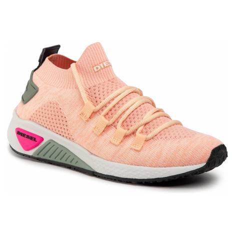 Sneakersy DIESEL - S-Kb Athl Lace W Y01999 P2215 H7790 Cream Blush/Creampuf