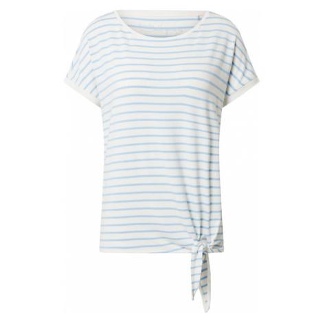 S.Oliver Koszulka biały / jasnoniebieski