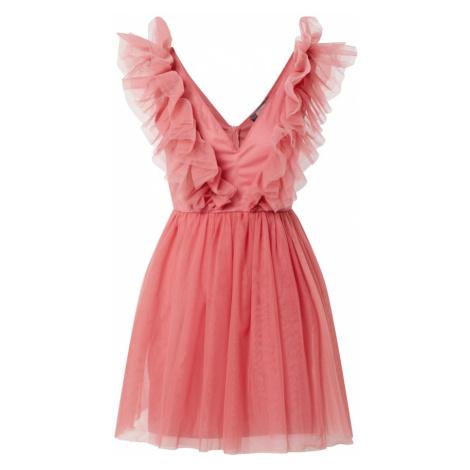 Missguided Sukienka koktajlowa różowy