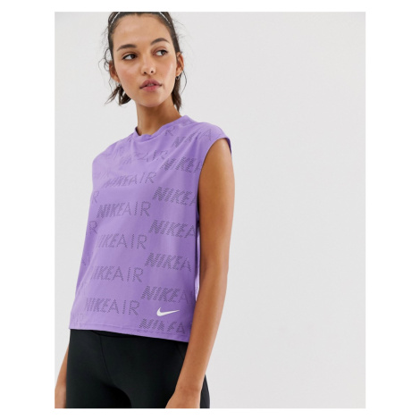 Nike Air Tank In Purple