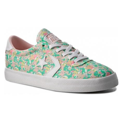 Sneakersy CONVERSE - Breakpoint Ox 555951C Menta/Vapor Pink/White
