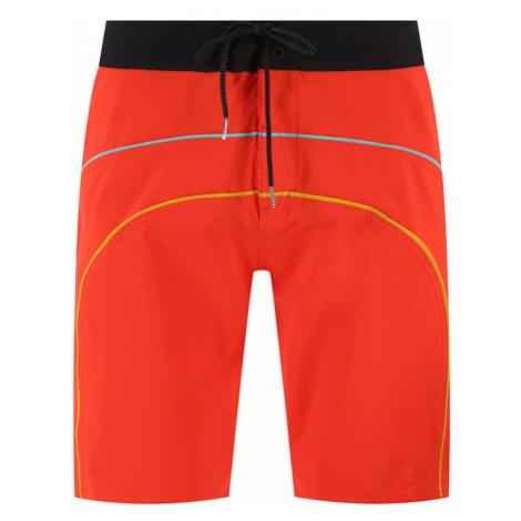 Volcom Szorty kąpielowe Rainbow A0812017 Czerwony Regular Fit