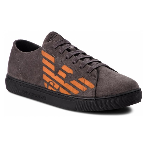 Sneakersy EMPORIO ARMANI - X4X238 XF188 00460 Darkgrey