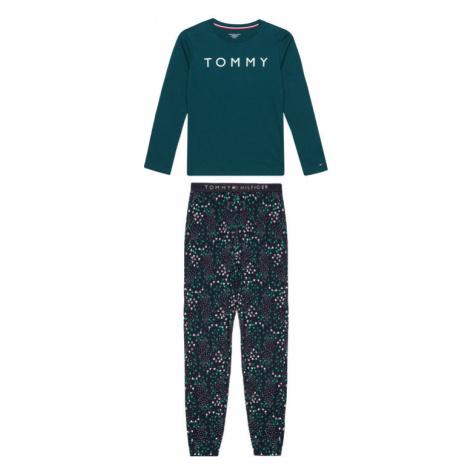 Tommy Hilfiger Piżama UB0UB00338 Zielony Regular Fit