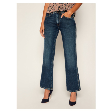 Pepe Jeans Jeansy Relaxed Fit PEPE ARCHIVE New Olympia PL203763D Granatowy Relaxed Fit
