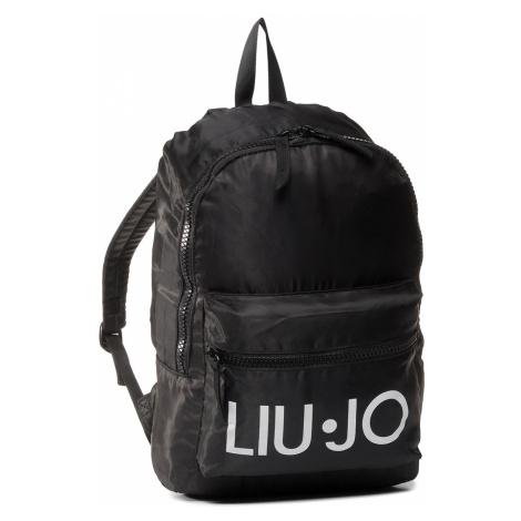 Plecak LIU JO - Nylon Printed Bacp 2A0033 T0300 Nero 22222