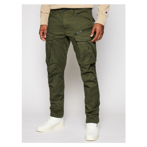 G-Star Raw Spodnie materiałowe Rovic D02190-5126-6059 Zielony Tapered Fit