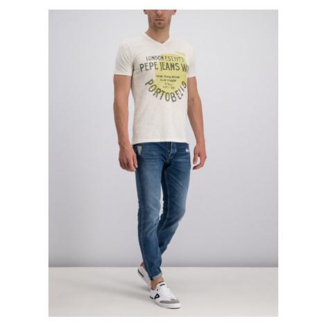 Pepe Jeans T-Shirt PM506459 Żółty Regular Fit