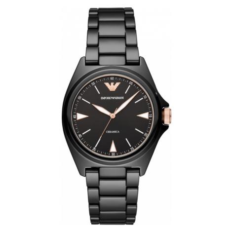 Zegarek EMPORIO ARMANI - Nicola AR70003 Black/Black