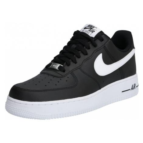 Nike Sportswear Trampki niskie 'Air Force' biały / czarny