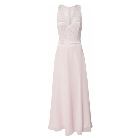 SWING Suknia wieczorowa pastelowy róż