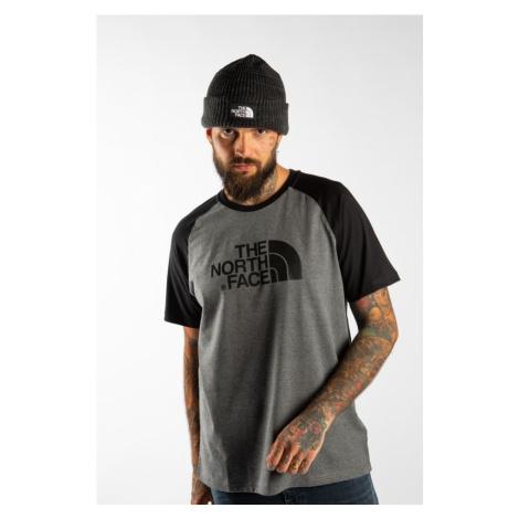Koszulka The North Face Raglan Easy Tee Jbv Tnf Medium Grey Heather