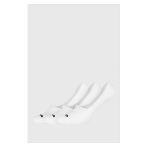 Trzypak białych skarpet FILA Ghost