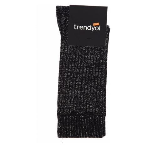 Trendyol Grey Lurexli Sock