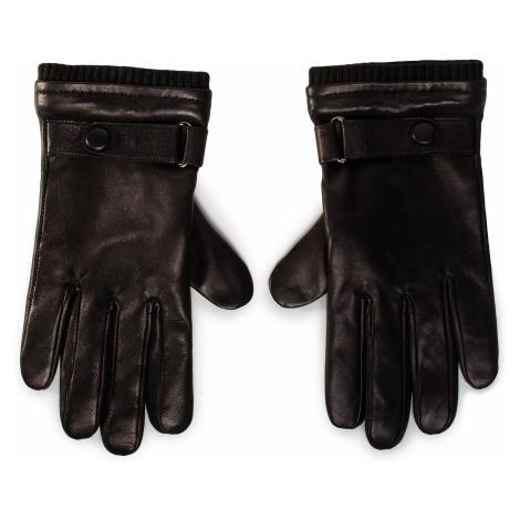 Rękawiczki Męskie GINO ROSSI - AR0178-000-OGDZ-9999-T Czarny