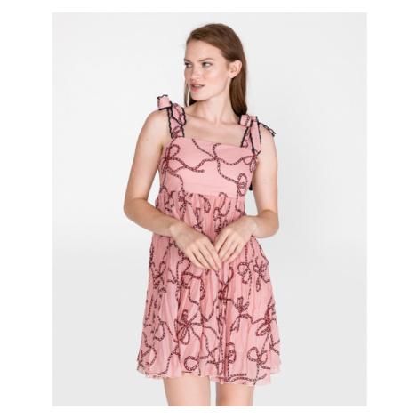 Pinko Bletilla Sukienka Beżowy