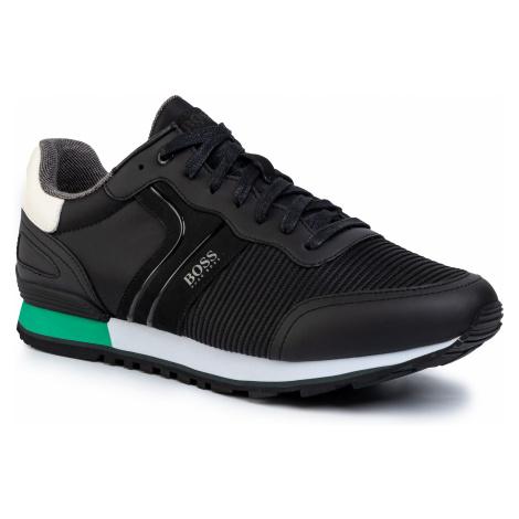 Sneakersy BOSS - Parkour 50422380 10214663 01 Black 001 Hugo Boss