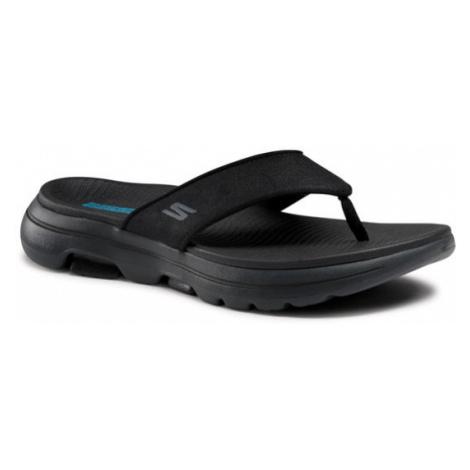 Skechers Japonki Go Walk 5-Varson 229005/BKGY Czarny