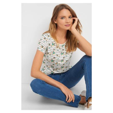T-shirt we wzory Orsay