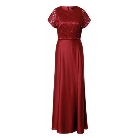 SWING Suknia wieczorowa czerwone wino