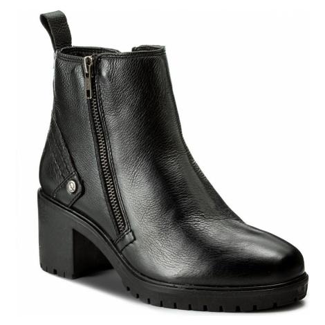 Botki WRANGLER - Sierra Zip Leather WL172513 Black 62