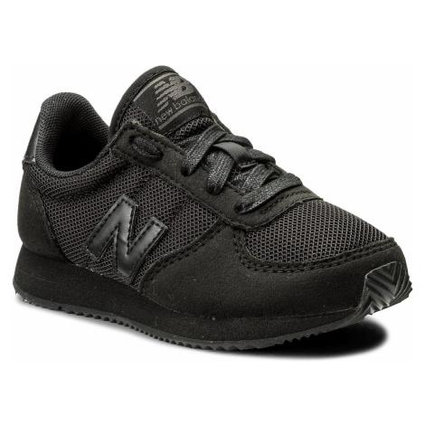 Sneakersy NEW BALANCE - KL220TBY M Czarny