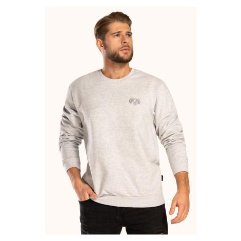 Szara bawełniana koszulka Pure Cotton