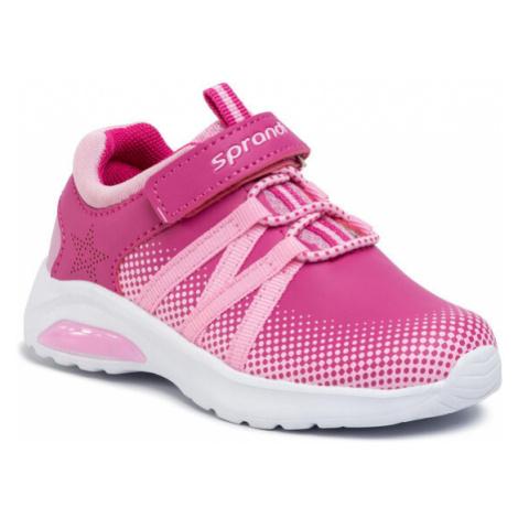 Sprandi Sneakersy CP23-5861 Różowy
