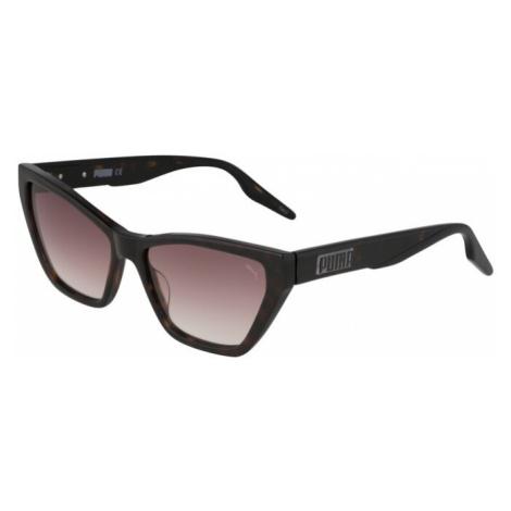PUMA Okulary przeciwsłoneczne czerwony / brązowy