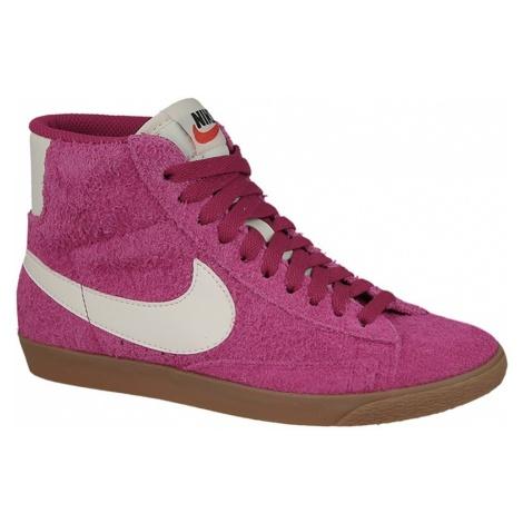 Buty damskie sneakersy Nike Blazer Mid Suede Vintage 518171 614