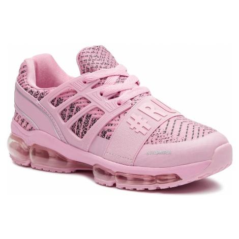 Sneakersy PLEIN SPORT - Runner Logos P19S WSC1233 STE003N Rose 04