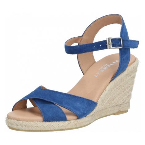PAVEMENT Sandały z rzemykami 'Dorit' niebieski