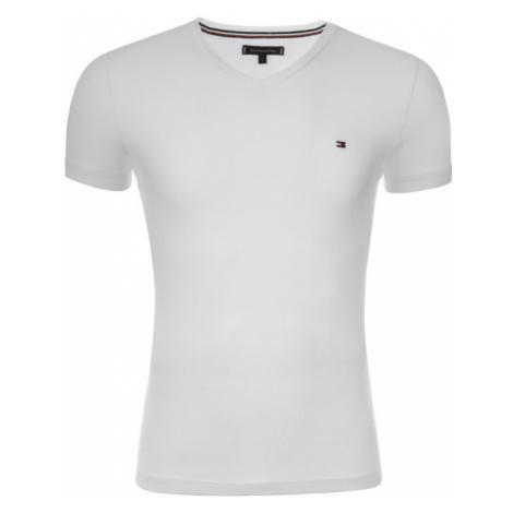 TOMMY HILFIGER T-Shirt MW0MW02045 Biały Slim Fit