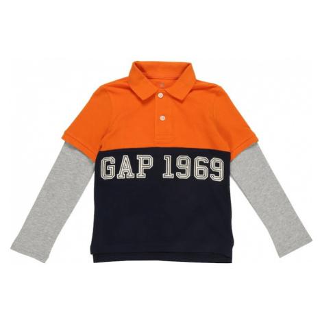 GAP Koszulka 'LS2N1POLO' pomarańczowy