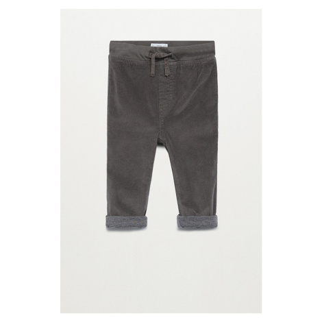 Mango Kids - Spodnie dziecięce 80-104 cm
