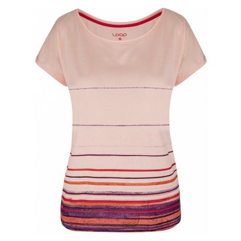 Pink Damskie wzorzyste koszulki LOAP Albumy