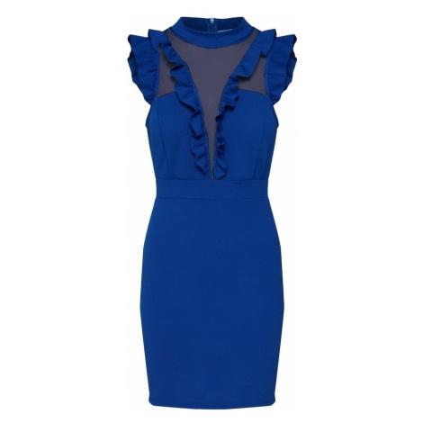 WAL G. Sukienka koktajlowa 'MG 7918' królewski błękit