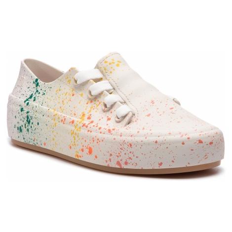 Półbuty MELISSA - Ulitsa Sneaker Splash 32606 White/Orange 52837