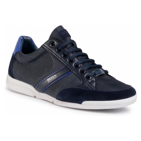 Sneakersy BOSS - Saturn 50407672 10216105 01 Dark Blue 404 Hugo Boss